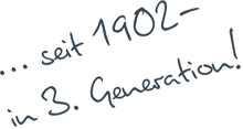 HSE seit 1902 - in 3. Generation